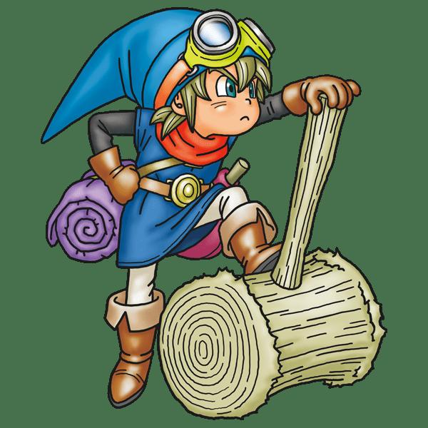 Dragon Quest Builders Boy Builder